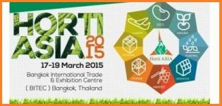 HORTI ASIA 2015 - International Horticultural Exhibition at Bangkok Thailand