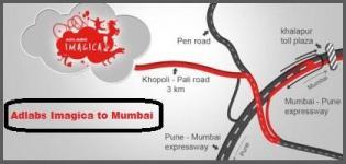 How to Reach Adlabs Imagica Theme Park from Mumbai