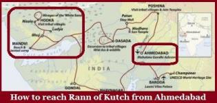 How to Reach Little Rann of Kutch from Ahmedabad