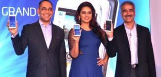 Huma Qureshi Launches SAMSUNG GALAXY Grand 2 Smart Phone in India