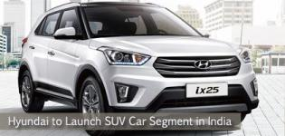 Hyundai to Launch IX25 New Compact Luxury SUV Car in India in 2015