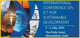 ICT4SD 2015 - International Conference on ICT for Sustainable Development at Ahmedabad