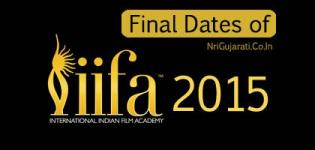 IIFA Awards 2015 Dates - Final IIFA 2015 Date with Time and Weekend Schedule Information