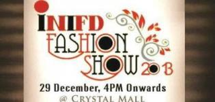 INIFD Fashion Show 2013 at Crystal Mall Rajkot on 29th December