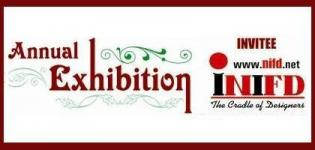 INIFD Institute Rajkot presents Annual Exhibition of Interiors and Fashion Products