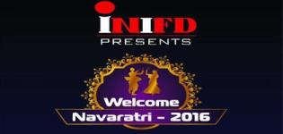 INIFD Rajkot Presents Welcome Navratri 2016 with DJ Ronak in Rajkot on 24th September