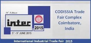 INTEC 2015 Coimbatore - International Industrial Trade Fair 2015 in India