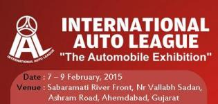 INTERNATIONAL AUTO LEAGUE 2015 at Ahmedabad - The Automobile Sector Exhibition Gujarat