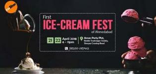 Ice Cream Festival 2018 in Ahmedabad at Akash Aman Party Plot - Date and Details
