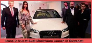 Bollywood Actress Ileana D'cruz at Audi Showroom Launch in Guwahati India