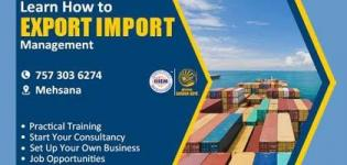 Import and Export Business Expo 2018 in Mehsana - Start and Set up Your Own Company