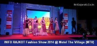 In Photos - Latest Live Images of INIFD RAJKOT Fashion Show 2014
