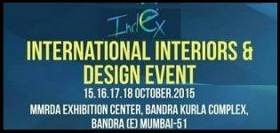 Index Exhibition 2015 - International Interiors & Design Fair in Mumbai at MMRDA Exhibition Center