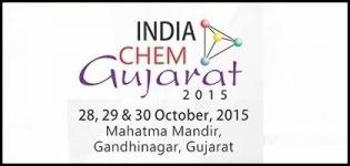 India Chem Gujarat 2015 Gandhinagar - International Exhibition and Conference on Chemical