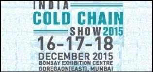 India Cold Chain Show Mumbai 2015 - 4th International Exhibition & Conference on Cold Chain Industry