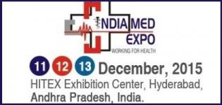 India Med Expo 2015 - 5th International Medical Exhibition and Conference in Hyderabad India