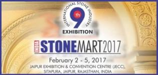 India Stonemart Jaipur 2017 - 9th International Stone Industry Exhibition in India