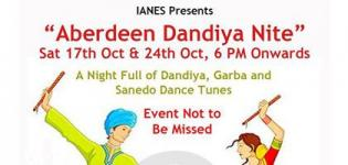 Indian Association of North East Scotland Presents Aberdeen Dandiya 2015 at Mile End School