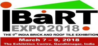 Indian Brick and Roof Tile Expo iBaRT Gandhinagar 2018 Date and Venue Details