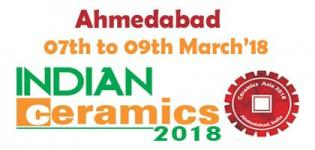 Indian Ceramics Ahmedabad 2018 - Ceramic Materials Supplies Machinery Show
