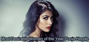 Indian Film Actress Pooja Hegde Choose the Most Desirable Women of the Year 2017 by Times