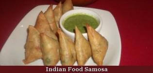Indian Food Samosa - Gujarati Samosa Types and Making Details
