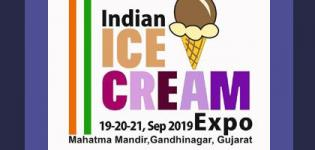 Indian Ice Cream Expo 2019 in Gandhinagar from 19th to 21st September