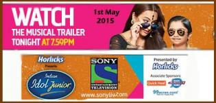 Indian Idol Junior 2015 - Musical Trailer Released on 1 May 2015 - Watch Video