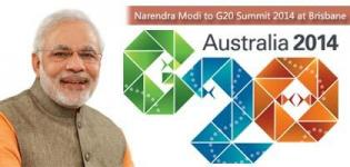 Indian PM Narendra Modi to Visit Australia in November for G20 Summit 2014 at Brisbane