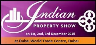 Indian Property Show Dubai at Dubai World Trade Centre from 1 to 3 December 2015