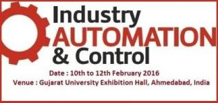 Industry Automation & Control in Ahmedabad 2016 - International Exhibition and Conference