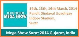 Inside Outside Mega Show Exhibition 2014 in Surat Gujarat