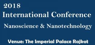 International Conference on Nanoscience and Nanotechnology 2018 in Rajkot