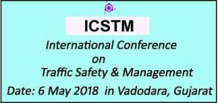 International Conference on Traffic Safety and Management 2018 in Vadodara