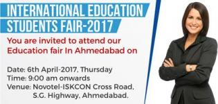International Education Students Fair 2017 in Ahmedabad at Novotel Hotel