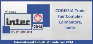 International Industrial Trade Fair 2014 in Coimbatore - INTEC Exhibition in India