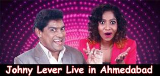 JOHNY LEVER Live in Ahmedabad at GMDC Convention Hall Auditorium on 10th June