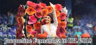 Jacqueline Fernandez Stunning Dance Performance in VIVO IPL 2018 Season 11