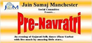 Jain Samaj Manchester Presents Pre-Navratri 2015 at Jain Community Center Manchester UK