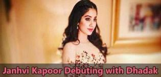 Janhvi Kapoor is Ready for Debuting on Silver Screen with Dhadak Movie