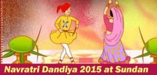 Jay Ambe Group Presents Navratri Dandiya 2015 Celebrations in Anand at Sundan