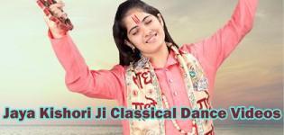 Jaya Kishori Ji in Boogie Woogie - Pujya Jaya Kishori Ji Classical Dance Videos
