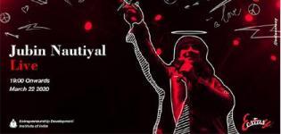 Jubin Nautiyal Live Concert 2020 at EDII Ahmedabad