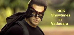 KICK Showtimes Vadodara - Show Timing Online Booking in Vadodara Cinemas Theatres