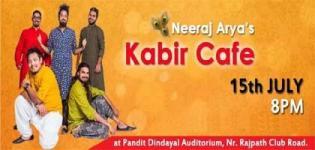 Kabir Cafe Live Night Event arrange in Ahmedabad City at Pandit Dindayal Auditorium