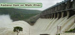 Kadana Dam on Mahi River at Panchmahal Gujarat - Details - Photos