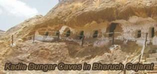 Kadia Dungar Caves in Bharuch Near Vadodara Gujarat - History Details and Photos