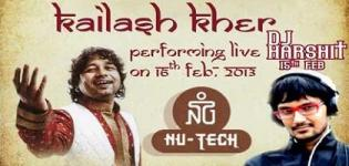 Kailash Kher Live Concert in Ahmedabad @ NU-TECH 2013 of Nirma University