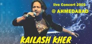 Kailash Kher Live in Concert 2016 in Ahmedabad at Gujarat University Center