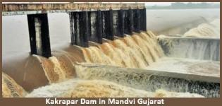 Kakrapar Dam in Mandvi Gujarat - History - Information - Photos